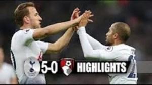 Tottenham Hotspur vs Bournemouth  5 - 0 | EPL All Goals & Highlights | 26-12-2018